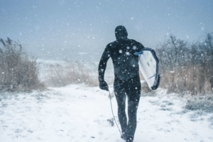 Warum hält ein Neoprenanzug warm