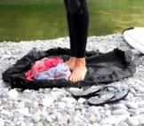 Neoprenanzug Tasche